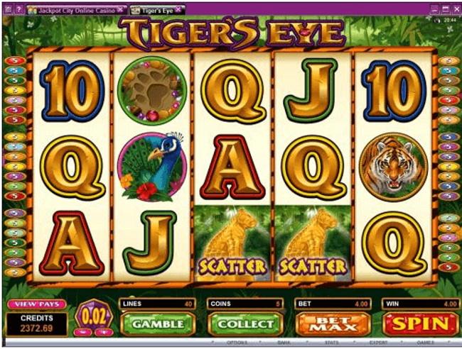Symbols in the game - Tiger's Eye