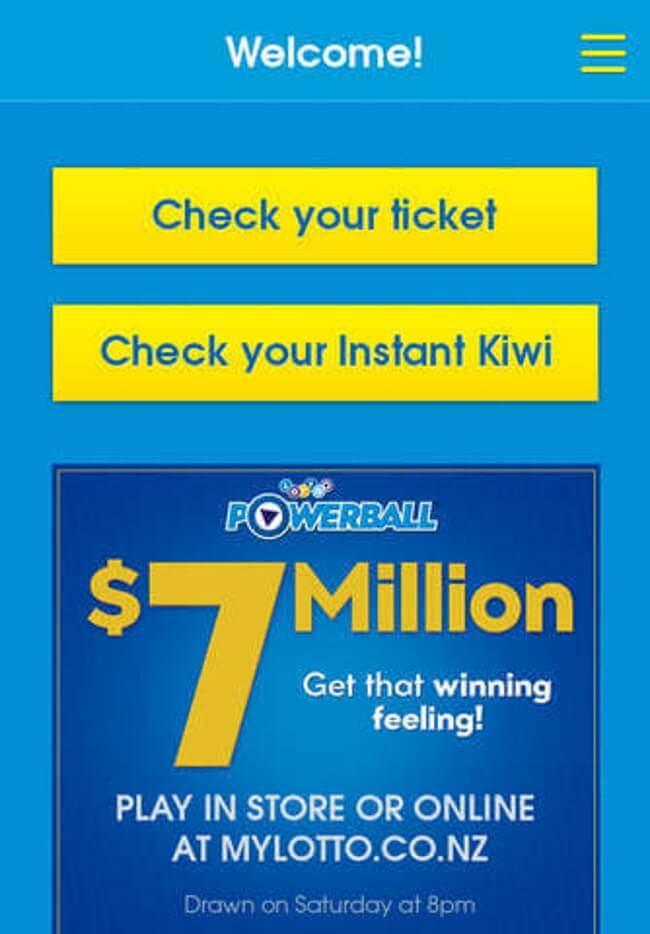 The Official Lotto New Zealand App
