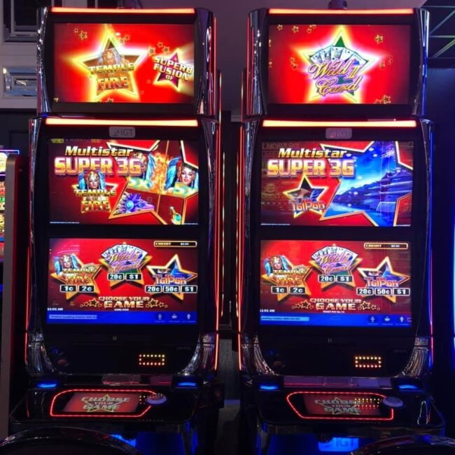 Two new Wild Card Poker machines at Christchurch casino