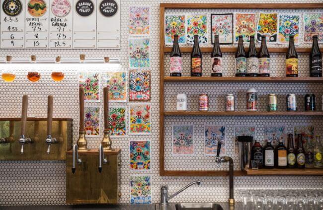 Visit Garage Project Cellar Door to taste beers