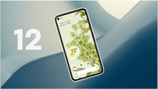 What are the new features in mobile smarpthones with Android 12 OS