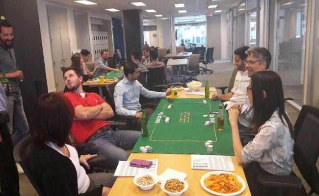 Feast for Poker Night