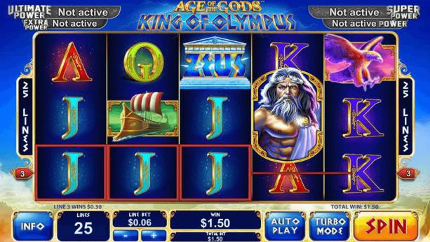 Age of Gods - Highest Payout pokies