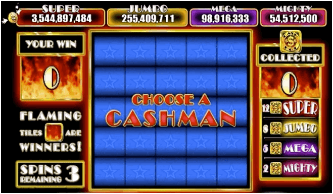 Cashman-fever-Bonus-games-and-features