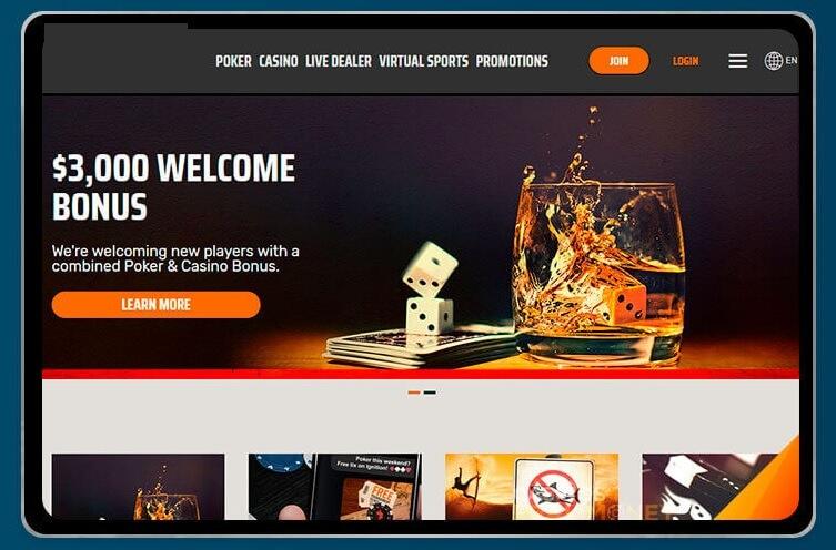 Casino on iPad