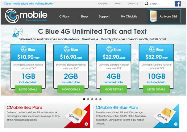 CMobile phone plans
