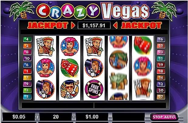 Crazy Vegas pokies