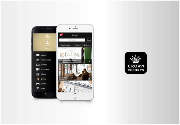 Crown Resorts app
