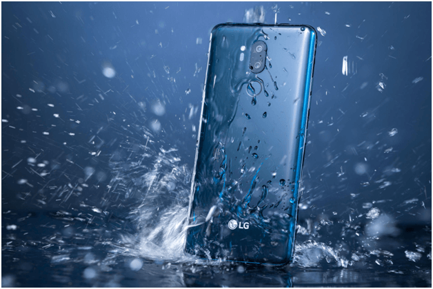 What is meant by IP rating of waterproof mobile phones?