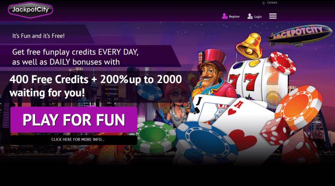 Jackpot city fun casino