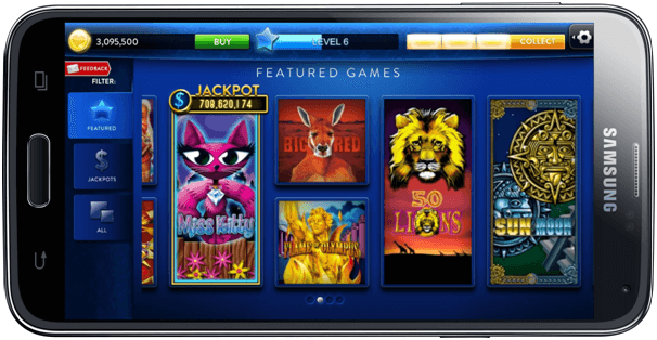 Mobile Casino App - Click to Play