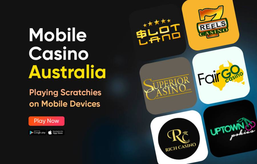 Mobile Casino Australia - Play Pokies and Scratchies on your Mobile