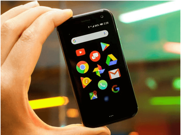 Palm tiny phone- Specifications
