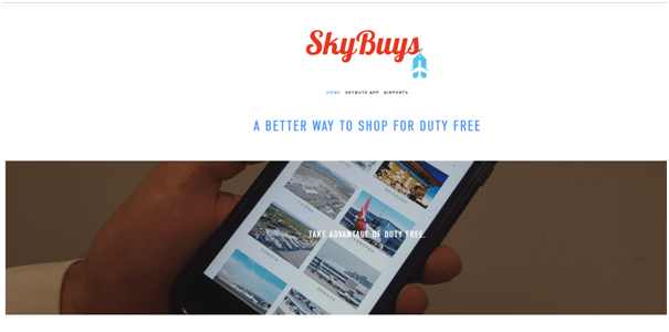 SkyBuys App for Aussies to do duty free shopping