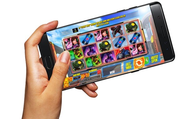 Slots on mobile