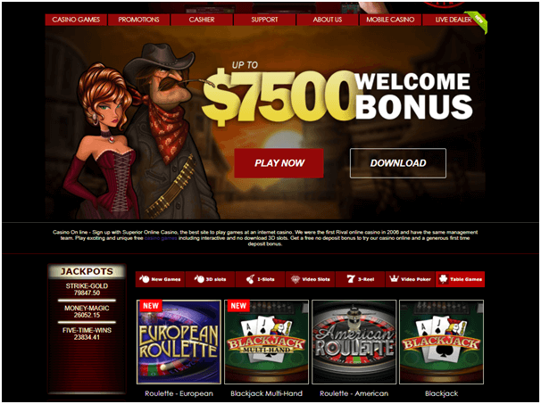 Superior casino - To Play Roulette