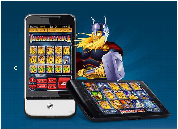 Thudnerstruck pokies on mobile