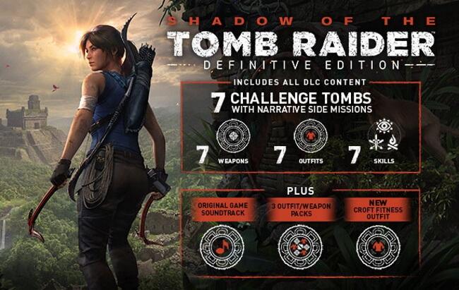 Tomb Raider Pack App at iTunes