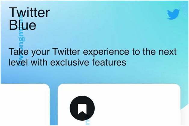 Twitter Blue - Bookmark folders