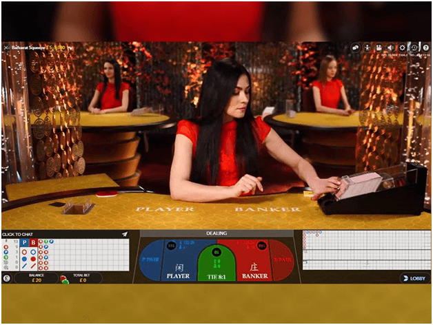 Types of Live Baccarat games