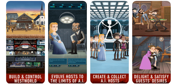 Westworld game features
