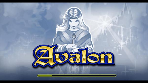 Avalon Pokies Loading Screen