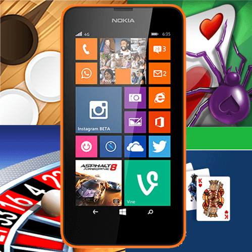 Lumia Card games