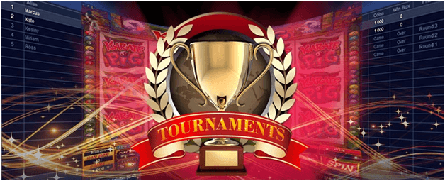 Pokies tournament on mobile with real AUD