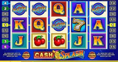 Cash Splash Video Slot