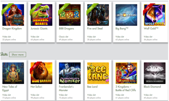 7 Reels casino pokies games