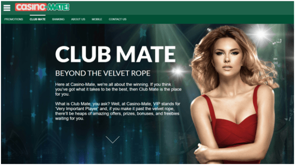 Casino Mate VIP Club