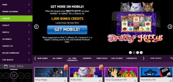 Jackpot City Mobile Games