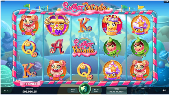 Sugar Parade Pokie