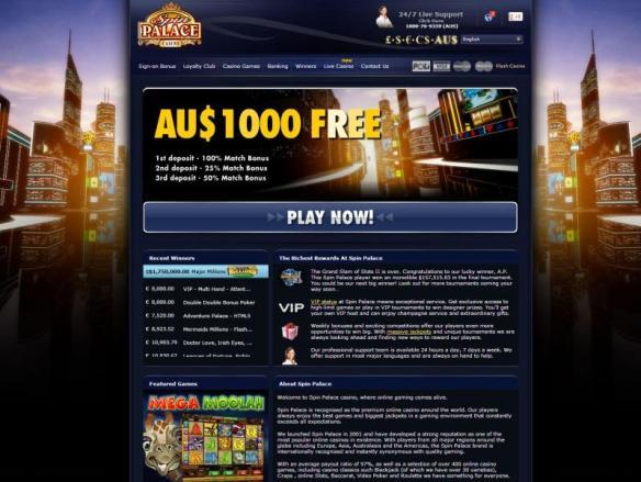 spin palace1000 free