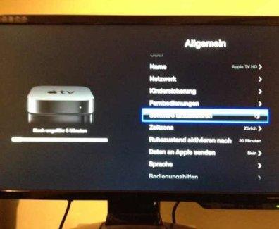 Apple TV Update 5.1
