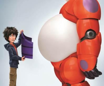 DVD:Blu-Ray Disneys «BAYMAX – riesiges Robowabohu»