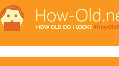 Ja, ich bin alt – How-Old.net