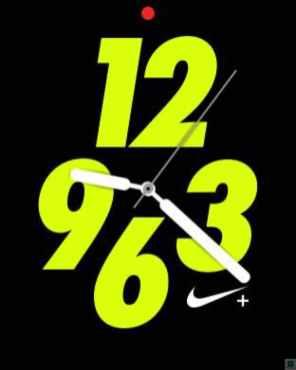 Apple Watch Serires 2 Nike+ Watchfaces 2