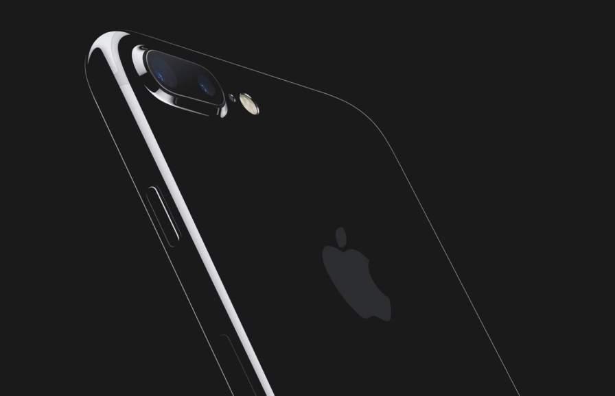 Die Rückseite vom iPhone 7 Plus