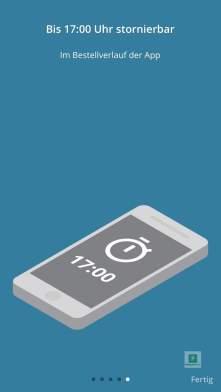 BRACK.CH Order Button Konfiguration über die App