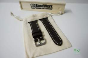 BandWerk Apple Watch Band - Dunkelbraun