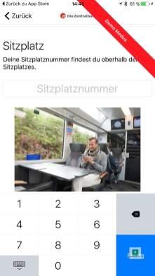 Bistro Order - Die Zentralbahn und Elvetino testen neue Gastro Service App
