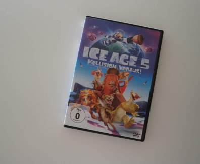 Ice Age 5 – Kollision Voraus DVD Cover