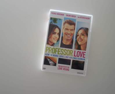 Professor Love – How to make Love like an Englishman DVD Cover