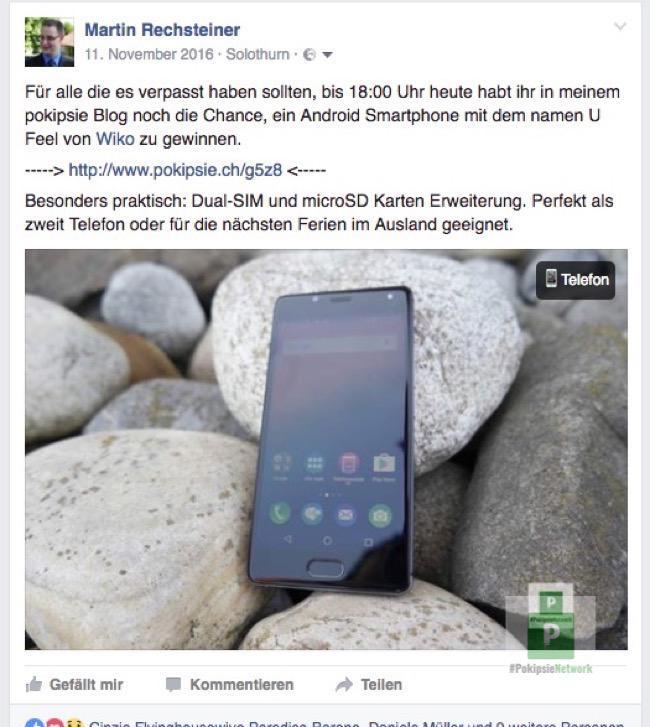 Facebook erkennt auch Telefone