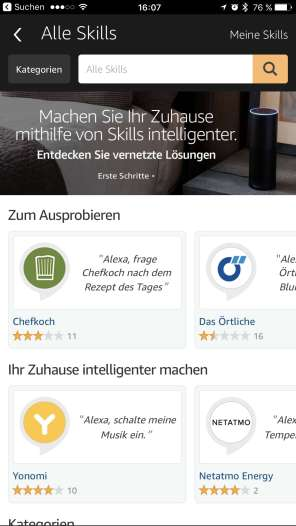 Integration von Skills