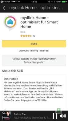 myDlink Smart Home integration