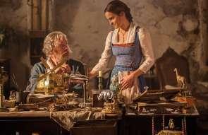 Belle mit ihrem Vater