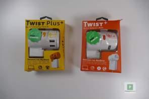 Die beiden Verpackten Adapter