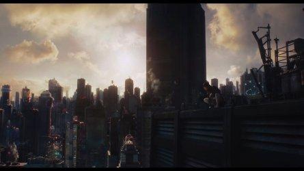 Sonnenaufgang über New Port City